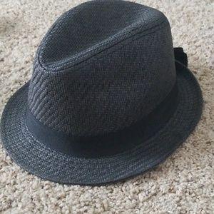 Accessories - Dark grey fedora hat